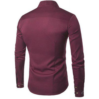 Mens Casual Shirt Stand Collar Long Sleeve Irregular Fit ShirtMens Shirts<br>Mens Casual Shirt Stand Collar Long Sleeve Irregular Fit Shirt<br><br>Collar: Turn-down Collar<br>Fabric Type: Polyester<br>Material: Cotton, Cotton Blends<br>Package Contents: 1 x Shirt<br>Shirts Type: Casual Shirts<br>Sleeve Length: Full<br>Weight: 0.2500kg