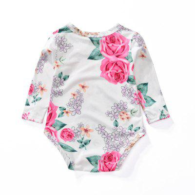 Spring and Autumn New Baby Newborn Toddler Flower Pattern Long Sleeves Jumpsuitbaby rompers<br>Spring and Autumn New Baby Newborn Toddler Flower Pattern Long Sleeves Jumpsuit<br><br>Closure Type: Covered Button<br>Collar: Round Neck<br>Decoration: Pattern<br>Fabric Type: Worsted<br>Gender: Girl<br>Material: Cotton<br>Package Contents: 1 x Jumpsuit<br>Pattern Style: Others<br>Season: Spring<br>Sleeve Length: Full<br>Style: Europe and the United States<br>Thickness: General<br>Weight: 0.2500kg