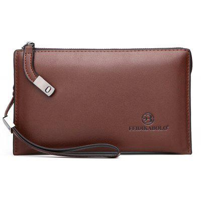 Casual Male Envelope Clutch Wallet