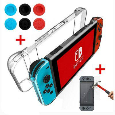 Cover Case for FOR Nintendo Switch Anti-Scratch 3-Part Design Protective HardGame Accessories<br>Cover Case for FOR Nintendo Switch Anti-Scratch 3-Part Design Protective Hard<br><br>Features: Other<br>Game Accessories Type: Storage and Cases,Accessory Kits,Tempered Glass Protective Film<br>Material: Others, PC<br>Package Contents: 1 x Switch Crystal Hard Case, 1 x Nintendo Switch Tempered Glass Screen Protector, 1 x Cleaning Cloth, 1 x Dust Absorder, 1 x Alcohol Cleaning Wipe, 2 x Black Thumb Stick Grips, 2 x Red Thumb Stick Gr<br>Package size: 20.00 x 10.00 x 8.00 cm / 7.87 x 3.94 x 3.15 inches<br>Package weight: 0.1820 kg<br>Product weight: 0.0800 kg