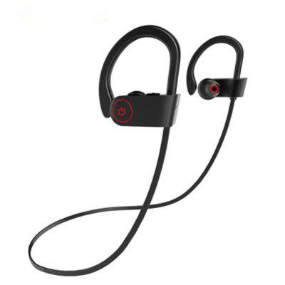 Bluetooth Headphones Best Wireless Sports Earphones w/ Mic HD Stereo Sweatproof Earbuds for Gym Running Workout 8 Hour
