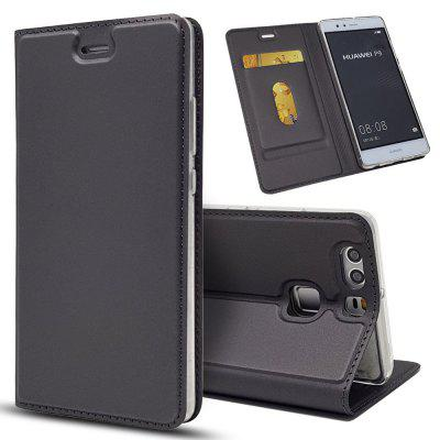 Leather Flip Case for Huawei P9 Wallet Funda Book Cover
