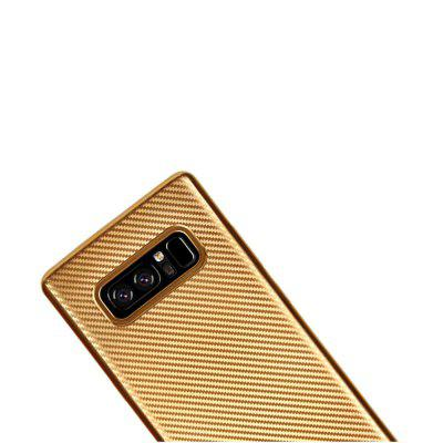 Electroplated Carbon Fiber Case for Samsung Galaxy Note 8 TPU Soft Back CoverSamsung Note Series<br>Electroplated Carbon Fiber Case for Samsung Galaxy Note 8 TPU Soft Back Cover<br><br>Compatible for Samsung: Samsung Galaxy Note 8<br>Features: Anti-knock<br>For: Samsung Mobile Phone<br>Material: TPU<br>Package Contents: 1 x Phone Case<br>Package size (L x W x H): 18.00 x 10.00 x 1.00 cm / 7.09 x 3.94 x 0.39 inches<br>Package weight: 0.0280 kg<br>Style: Cool, Special Design