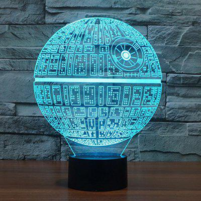 Amazing 3D Illusion Effect LED Night Light3D Lamps<br>Amazing 3D Illusion Effect LED Night Light<br><br>Battery Quantity: No<br>Color Temperature or Wavelength: 4500K<br>Connector Type: USB<br>Features: Color-changing<br>Light Source Color: Touch 7-Color<br>Light Type: LED Night Light<br>Mini Voltage: 5V<br>Package Contents: 1 x ABS Lamp Base , 1 x Acrylic Plate , 1 x USB Cable<br>Package size (L x W x H): 26.00 x 20.00 x 6.00 cm / 10.24 x 7.87 x 2.36 inches<br>Package weight: 0.4000 kg<br>Power Source: USB charging<br>Product weight: 0.3800 kg<br>Quantity: 1 Set<br>Style: Artistic Style<br>Wattage: 1W