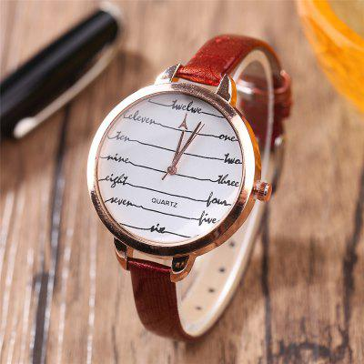 Khorasan Fashionable Simple Leather band Ladies WatchWomens Watches<br>Khorasan Fashionable Simple Leather band Ladies Watch<br><br>Available Color: Black,Red,Blue,Brown,Beige,Plum<br>Band material: Leather<br>Band size: 22 x 1CM<br>Case material: Alloy<br>Dial size: 3.6 x 3.6 x 0.8CM<br>Display type: Analog<br>Movement type: Quartz watch<br>Package Contents: 1 x Watch<br>Package size (L x W x H): 35.00 x 19.50 x 23.00 cm / 13.78 x 7.68 x 9.06 inches<br>Package weight: 0.0350 kg<br>Product size (L x W x H): 22.00 x 3.60 x 0.80 cm / 8.66 x 1.42 x 0.31 inches<br>Product weight: 0.0300 kg<br>Shape of the dial: Round<br>Watch style: Casual<br>Watches categories: Women,Female table<br>Water resistance: No
