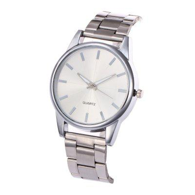 Khorasan Simple Fashion Alloy Steel with Quartz WatchUnisex Watches<br>Khorasan Simple Fashion Alloy Steel with Quartz Watch<br><br>Available Color: Rose Gold,Silver,Gold<br>Band material: Alloys<br>Band size: 22.5 x 2CM<br>Case material: Alloy<br>Clasp type: Folding clasp with safety<br>Dial size: 4 x 4 x 1CM<br>Display type: Analog<br>Movement type: Quartz watch<br>Package Contents: 1 x Watch<br>Package size (L x W x H): 35.00 x 19.50 x 23.00 cm / 13.78 x 7.68 x 9.06 inches<br>Package weight: 0.0800 kg<br>People: Male table,Female table,Unisex table<br>Product size (L x W x H): 22.50 x 4.00 x 1.00 cm / 8.86 x 1.57 x 0.39 inches<br>Product weight: 0.0750 kg<br>Shape of the dial: Round<br>Watch style: Fashion, Casual