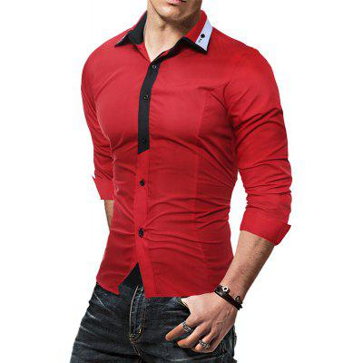 Fashion Color Lapel Repair Man Long Sleeved ShirtMens Shirts<br>Fashion Color Lapel Repair Man Long Sleeved Shirt<br><br>Collar: Turn-down Collar<br>Material: Cotton, Polyester<br>Package Contents: 1 X shirt<br>Shirts Type: Casual Shirts<br>Sleeve Length: Full<br>Weight: 0.3000kg