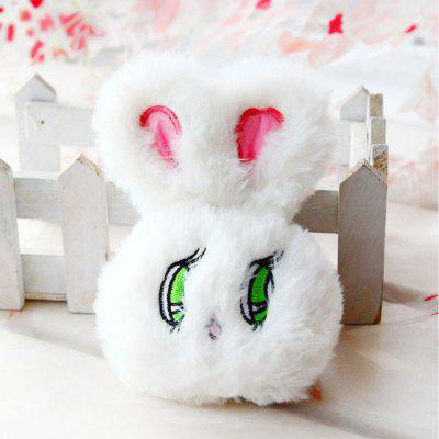 Wego Rabbit Doll Plush Toy Pendant Llavero