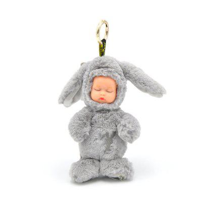 New Long-haired Rabbit Stuffed with Plush Toys