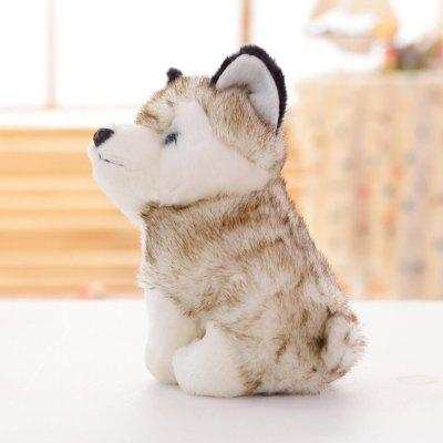 Husky Plush Toy Simulation Animal Dog Doll Children Birthday Gift рубашка animal husky shirt greeny