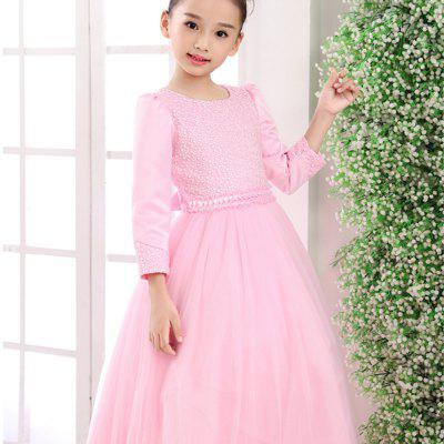 Autumn and Winter Girls with Long Sleeves Dress tolaitoe autumn