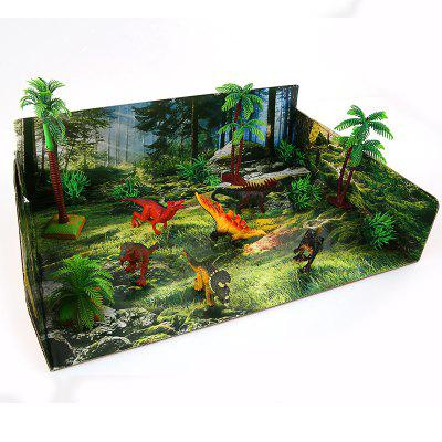DIY Dinosaur World Model Toy