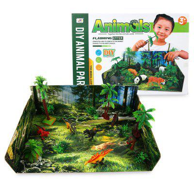 DIY Dinosaur World Model ToyMovies &amp; TV Action Figures<br>DIY Dinosaur World Model Toy<br><br>Completeness: Finished Goods<br>Gender: Boys,Girls,Kids<br>Materials: Plastic, ABS<br>Package Contents: 1 x Set of Model Toy<br>Package size: 45.00 x 5.00 x 28.50 cm / 17.72 x 1.97 x 11.22 inches<br>Package weight: 0.4600 kg<br>Product weight: 0.4500 kg<br>Stem From: Other<br>Theme: Other,Animals