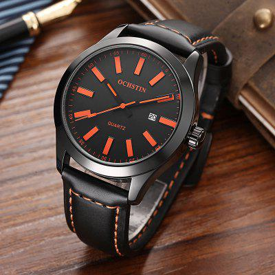 OCHSTIN GQ048A Men Leather Quartz Calendar Sport Military WatchMens Watches<br>OCHSTIN GQ048A Men Leather Quartz Calendar Sport Military Watch<br><br>Band material: Leather<br>Band size: 25 x 2.2cm<br>Case material: Alloy<br>Clasp type: Pin buckle<br>Dial size: 4.2 x 4.2 x 1.1cm<br>Display type: Analog<br>Movement type: Quartz watch<br>Package Contents: 1 x Watch, 1 x Box<br>Package size (L x W x H): 16.00 x 8.00 x 4.00 cm / 6.3 x 3.15 x 1.57 inches<br>Package weight: 0.1400 kg<br>Product size (L x W x H): 25.00 x 4.20 x 1.10 cm / 9.84 x 1.65 x 0.43 inches<br>Product weight: 0.0500 kg<br>Shape of the dial: Round<br>Special features: Day<br>Watch mirror: Mineral glass<br>Watch style: Trends in outdoor sports, Fashion, Casual<br>Watches categories: Women,Men,Male table