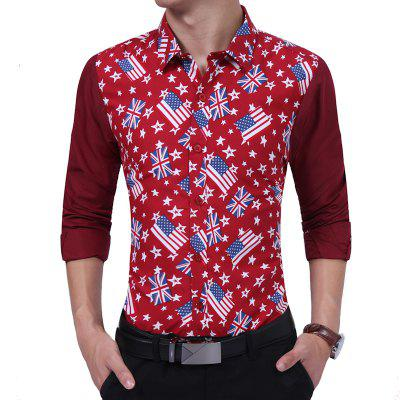 Fashion Flag Young Gentleman'S Shirt