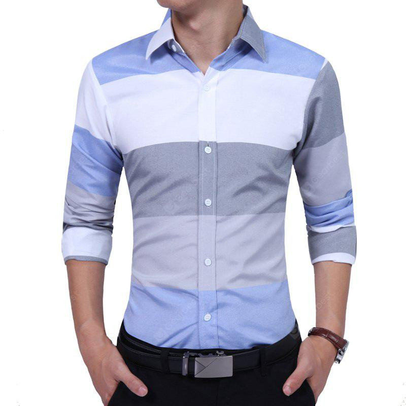 Camisa casual Business Color Streak