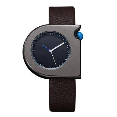 TOMI T005 Unisex Fashion Leather Strap Wrist Watches with Box