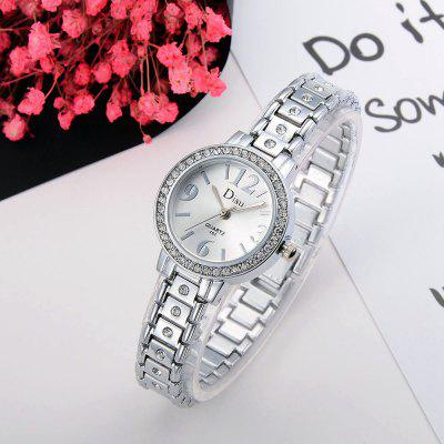 DS026 Women Ladies Analog Quartz Metal Bracelet Wrist WatchWomens Watches<br>DS026 Women Ladies Analog Quartz Metal Bracelet Wrist Watch<br><br>Band material: Zinc Alloy<br>Band size: 19.4 x 1 CM<br>Case material: Alloy<br>Clasp type: Sheet folding clasp<br>Dial size: 2.7 x 2.7 x 0.7 CM<br>Display type: Analog<br>Movement type: Quartz watch<br>Package Contents: 1 x Watch<br>Package size (L x W x H): 20.00 x 4.00 x 1.00 cm / 7.87 x 1.57 x 0.39 inches<br>Package weight: 0.0390 kg<br>Product size (L x W x H): 19.40 x 2.70 x 0.70 cm / 7.64 x 1.06 x 0.28 inches<br>Product weight: 0.0370 kg<br>Shape of the dial: Round<br>Special features: Day<br>Watch mirror: Mineral glass<br>Watch style: Fashion, Business, Retro, Lovely, Wristband Style, Jewellery, Casual<br>Watches categories: Women,Female table<br>Water resistance: No