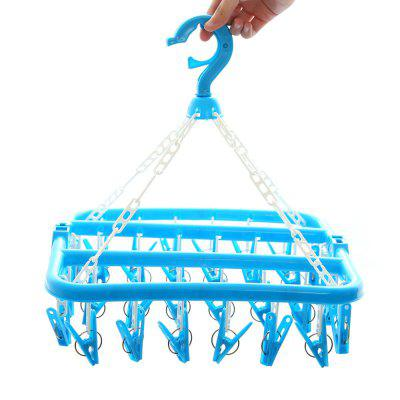 Square Folding Drying RackHome Gadgets<br>Square Folding Drying Rack<br><br>Materials: PP<br>Package Contents: 1 x Hanger<br>Package Size(L x W x H): 33.00 x 33.00 x 10.00 cm / 12.99 x 12.99 x 3.94 inches<br>Package weight: 0.2700 kg