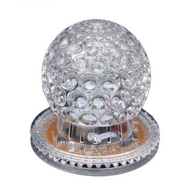 Auto Rotating Red Green Blue LED Projector Stage Light Crystal Magic Ball for KTV Party Festival Effect Lighting