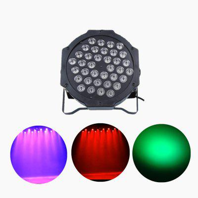 Mini 36 LEDs RGB Red Green Blue LED Par Stage Lighting Disco DJ Club Effect Wedding Show DMX Strobe Light