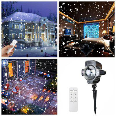 Water-resistance LED Snowflake Laser Projector Timing Light