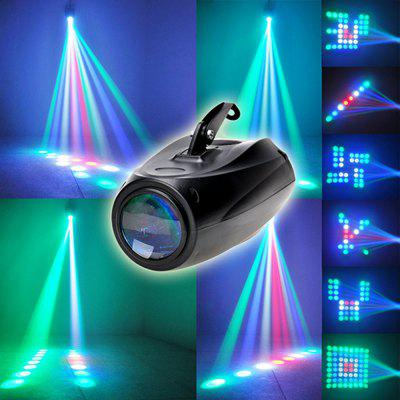 64 Leds RGBW Pattern Stage Light Auto Voice-activated Moonflower Projector Lighting for DJ Party Wedding Events Club