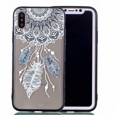 Per iPhone X Phone Case Nuova goffratura in rilievo