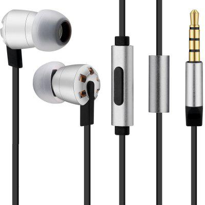 EM918 Wired Metal Earphone