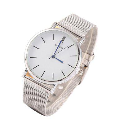 Stylish Casual Stainless Steel Band Men WatchMens Watches<br>Stylish Casual Stainless Steel Band Men Watch<br><br>Band material: Stainless Steel<br>Case material: Zinc Alloy<br>Clasp type: Buckle<br>Movement type: Quartz watch<br>Package Contents: 1 x Watch<br>Package size (L x W x H): 27.00 x 6.00 x 3.00 cm / 10.63 x 2.36 x 1.18 inches<br>Package weight: 0.0800 kg<br>Product size (L x W x H): 25.00 x 4.00 x 0.90 cm / 9.84 x 1.57 x 0.35 inches<br>Product weight: 0.0420 kg<br>Shape of the dial: Round<br>Watch style: Fashion, Casual<br>Watches categories: Men