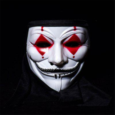 Hot Selling V for Vendetta Mask Anonymous Guy Fawkes Fancy Dress Adult Costume Accessory Party Cosplay Masks