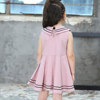 New Girl Navy Pure Cotton DressGirls dresses<br>New Girl Navy Pure Cotton Dress<br><br>Dresses Length: Knee-Length<br>Material: Cotton<br>Package Contents: 1 x Dress<br>Pattern Type: Solid<br>Silhouette: A-Line<br>Style: British<br>Weight: 0.1500kg<br>With Belt: No