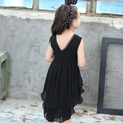 New Girls Sleeveless and Pure Color DressGirls dresses<br>New Girls Sleeveless and Pure Color Dress<br><br>Dresses Length: Knee-Length<br>Material: Cotton<br>Package Contents: 1 x Dress<br>Pattern Type: Solid<br>Silhouette: Trumpet/Mermaid<br>Style: Cute<br>Weight: 0.1300kg<br>With Belt: No
