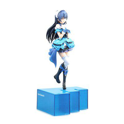 Cute Girl Standing on Blue Steps Cartoon Action Figure Collectible ToyMovies &amp; TV Action Figures<br>Cute Girl Standing on Blue Steps Cartoon Action Figure Collectible Toy<br><br>Completeness: Finished Goods<br>Gender: Boys,Girls<br>Materials: PVC, ABS<br>Package Contents: 1 x Figure Model Toy<br>Package size: 30.00 x 15.00 x 15.00 cm / 11.81 x 5.91 x 5.91 inches<br>Package weight: 0.5000 kg<br>Stem From: Japan<br>Theme: Movie and TV
