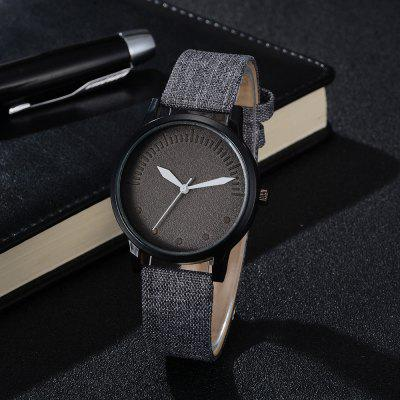 Men Simple Style Casual All Matched Elegant Vogue WatchMens Watches<br>Men Simple Style Casual All Matched Elegant Vogue Watch<br><br>Band material: Cloth<br>Case material: Zinc Alloy<br>Clasp type: Pin buckle<br>Movement type: Quartz watch<br>Package Contents: 1 x Watch<br>Package size (L x W x H): 10.00 x 12.00 x 18.00 cm / 3.94 x 4.72 x 7.09 inches<br>Package weight: 0.0450 kg<br>Product size (L x W x H): 23.30 x 3.50 x 0.70 cm / 9.17 x 1.38 x 0.28 inches<br>Product weight: 0.0300 kg<br>Shape of the dial: Round<br>Watch style: Fashion, Casual<br>Watches categories: Men