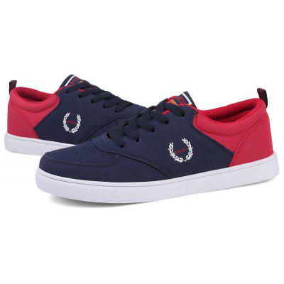Sneakers Casual Lace Up Fashion Patchwork Color Shoes Milwaukee Sell products