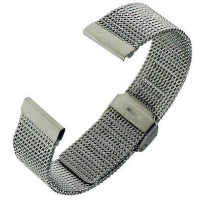 22MM Stainless Steel Watch Band Quick Release Loop Wrist Belt Bracelet for Pebble Time / Pebble Time Steel