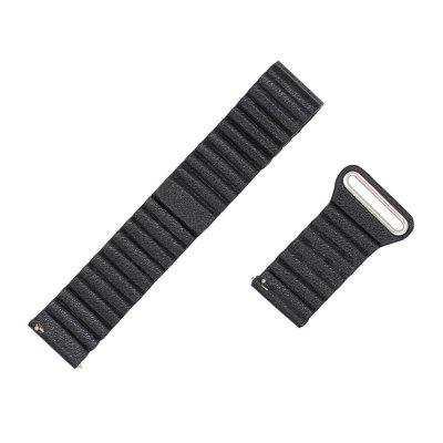 22MM Leather Watchband Magnetic Clasp Strap for Pebble Time / Pebble Time SteelWatch Accessories<br>22MM Leather Watchband Magnetic Clasp Strap for Pebble Time / Pebble Time Steel<br><br>Material: Leather<br>Package Contents: 1 x Band<br>Package size (L x W x H): 22.00 x 6.00 x 5.00 cm / 8.66 x 2.36 x 1.97 inches<br>Package weight: 0.0500 kg<br>Product size (L x W x H): 20.00 x 2.20 x 1.00 cm / 7.87 x 0.87 x 0.39 inches<br>Product weight: 0.0400 kg<br>Type: Smart watch / wristband band