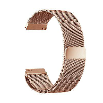 22MM Milanese Loop Adjustable Stainless Steel Replacement Strap Bands for Pebble Time / Pebble Time Steel