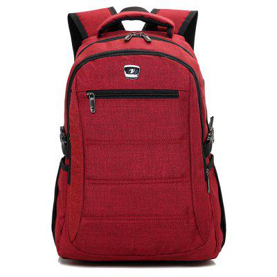 New Men's Large-capacity Waterproof Casual Business Backpack Youth Travel Computer Bags