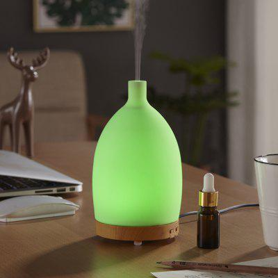 Zuoqi Silica Gel Shell Wood Grain Humidifier Coloful Case Style Aroma Diffuser