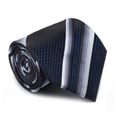 New Casual Men Tie Striped Breathable Business  Necktie