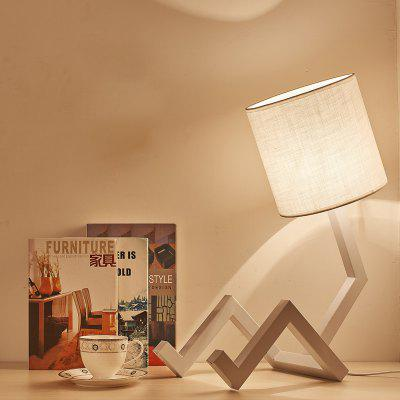 TD8306-AN E27 Table Lamp 40X20X53CMTable Lamps<br>TD8306-AN E27 Table Lamp 40X20X53CM<br><br>Bulb Base: E27<br>Bulb Included: No<br>Certifications: CE,RoHs<br>Color Temperature or Wavelength: 2800K<br>Features: Eye Protection<br>Fixture Material: Metal<br>Overall Height ( CM ): 53CM<br>Overall Length ( CM ): 40CM<br>Overall Width ( CM ): 20CM<br>Package Contents: 1 x Table Light, 1  x  English User Manual<br>Package size (L x W x H): 57.00 x 27.00 x 24.00 cm / 22.44 x 10.63 x 9.45 inches<br>Package weight: 3.8000 kg<br>Power Supply: Power Plug<br>Product size (L x W x H): 40.00 x 20.00 x 53.00 cm / 15.75 x 7.87 x 20.87 inches<br>Product weight: 3.0000 kg<br>Shade Material: Cloth<br>Style: Modern Style<br>Switch Type: On Off Switch<br>Type: Desk Lamp<br>Voltage ( V ): AC220<br>Wattage: 60W