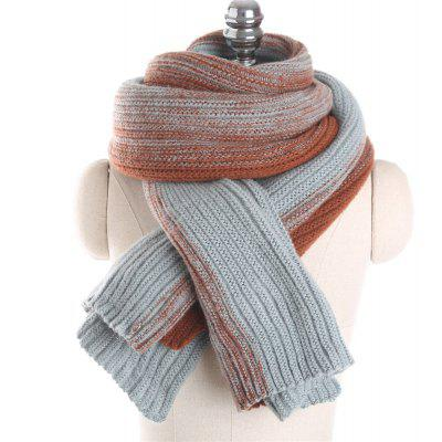 M1748 Color Fade Color Warm Scarf