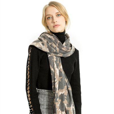 M1757 Camouflage Vogue Cashmere Scarf