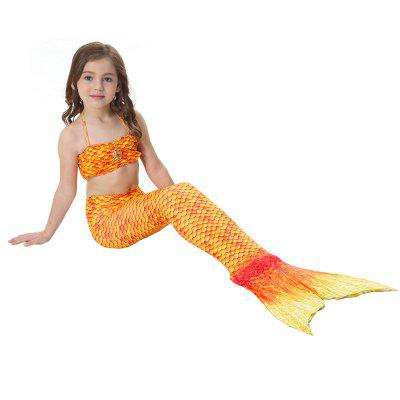 Childrens Mermaid Swimsuit Tail Clothing SwimwearGirls swimwear<br>Childrens Mermaid Swimsuit Tail Clothing Swimwear<br><br>Package Contents: 1  x Swimsuit<br>Pattern Type: Plaid<br>Swimwear Type: Two-Pieces Separate<br>Waist: High Waisted<br>Weight: 0.1900kg