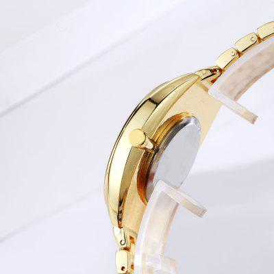 DP010 Women Fashion Crystal Accent Alloy Band Quartz WatchesWomens Watches<br>DP010 Women Fashion Crystal Accent Alloy Band Quartz Watches<br><br>Band material: Zinc Alloy<br>Band size: 22.5 x 1.6 CM<br>Case material: Alloy<br>Clasp type: Sheet folding clasp<br>Dial size: 3.4 x 3.4 x 0.8 CM<br>Display type: Analog<br>Movement type: Quartz watch<br>Package Contents: 1 x Watch<br>Package size (L x W x H): 24.00 x 4.50 x 1.00 cm / 9.45 x 1.77 x 0.39 inches<br>Package weight: 0.0860 kg<br>Product size (L x W x H): 22.50 x 3.40 x 0.80 cm / 8.86 x 1.34 x 0.31 inches<br>Product weight: 0.0840 kg<br>Shape of the dial: Round<br>Special features: Day<br>Watch mirror: Mineral glass<br>Watch style: Fashion, Business, Retro, Lovely, Wristband Style, Jewellery, Casual<br>Watches categories: Women,Female table<br>Water resistance: No