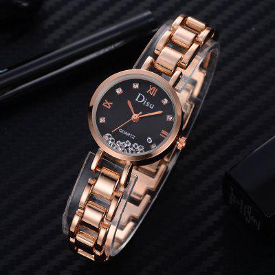 DS050 Women Special Rhinestones Metal Bracelet Wrist WatchWomens Watches<br>DS050 Women Special Rhinestones Metal Bracelet Wrist Watch<br><br>Band material: Zinc Alloy<br>Band size: 18.5 x 1.1 CM<br>Case material: Alloy<br>Clasp type: Sheet folding clasp<br>Dial size: 2.1 x 2.1 x 0.9 CM<br>Display type: Analog<br>Movement type: Quartz watch<br>Package Contents: 1 x Watch<br>Package size (L x W x H): 20.00 x 4.00 x 1.00 cm / 7.87 x 1.57 x 0.39 inches<br>Package weight: 0.0400 kg<br>Product size (L x W x H): 18.50 x 2.10 x 0.90 cm / 7.28 x 0.83 x 0.35 inches<br>Product weight: 0.0370 kg<br>Shape of the dial: Round<br>Special features: Day<br>Watch mirror: Mineral glass<br>Watch style: Fashion, Business, Retro, Lovely, Wristband Style, Jewellery, Casual<br>Watches categories: Women,Female table<br>Water resistance: No