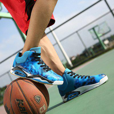 Autumn Large Size Basketball  High-Top Anti-Slip SneakersAthletic Shoes<br>Autumn Large Size Basketball  High-Top Anti-Slip Sneakers<br><br>Available Size: 39-45<br>Closure Type: Lace-Up<br>Feature: Height Increasing<br>Gender: For Men<br>Outsole Material: Rubber<br>Package Contents: 1 x Pair of Shoes<br>Package Size(L x W x H): 30.00 x 20.00 x 10.00 cm / 11.81 x 7.87 x 3.94 inches<br>Package weight: 1.1000 kg<br>Pattern Type: Others<br>Season: Spring/Fall<br>Shoe Width: Medium(B/M)<br>Upper Material: PU