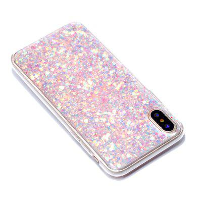 Cases For IPhone X Color Glowing TPU Phone Protects the ShelliPhone Cases/Covers<br>Cases For IPhone X Color Glowing TPU Phone Protects the Shell<br><br>Features: Anti-knock<br>Material: TPU<br>Package Contents: 1 x Phone Case<br>Package size (L x W x H): 14.20 x 7.00 x 0.80 cm / 5.59 x 2.76 x 0.31 inches<br>Package weight: 0.0140 kg<br>Style: Vintage/Nostalgic Euramerican Style, Colorful